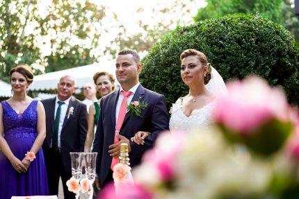 """Посрещане на младоженците в ресторант """"Монтесито"""""""